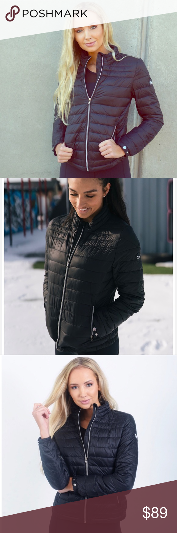 Super Cute Zyia Black Whistler Puffer Jacket Fashion Clothes Design Fashion Trends [ 1740 x 580 Pixel ]