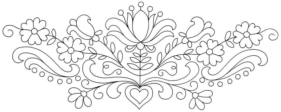 Resultado de imagen para mexican embroidery patterns | craft ...