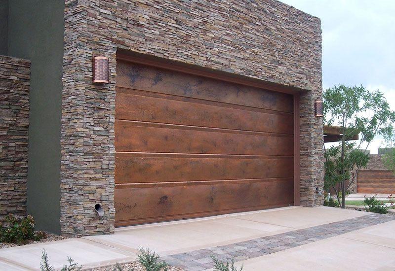 Modern Wooden Garage Door Garagedoortrends Garagedoorstyles