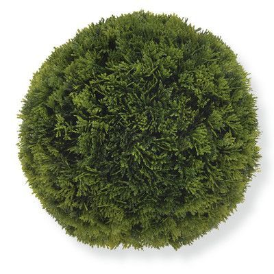Boston International Evergreen Garden Ball (Set of 2) Size: Large