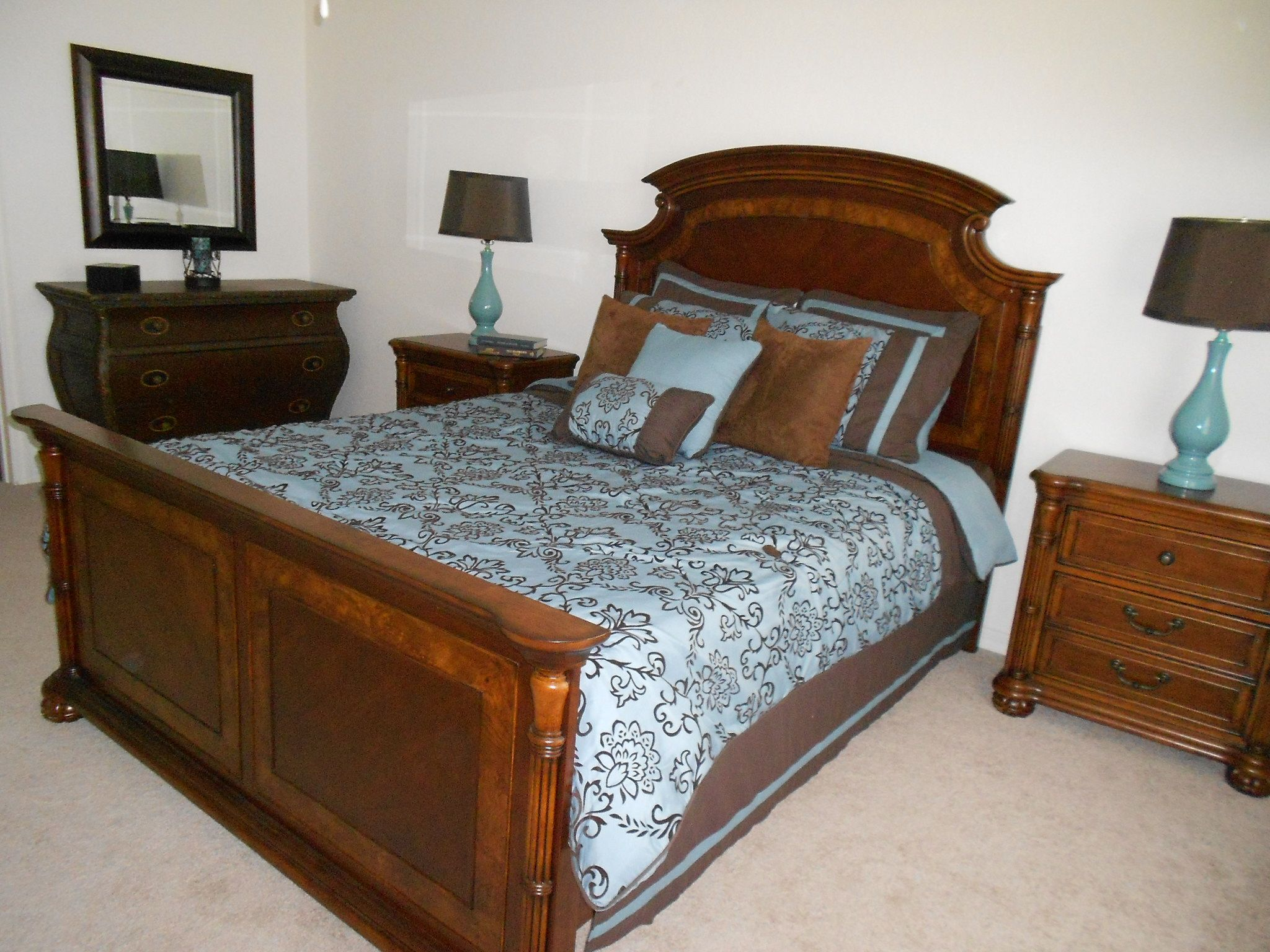 brown and light blue bedroom brown and light blue bedding 18383