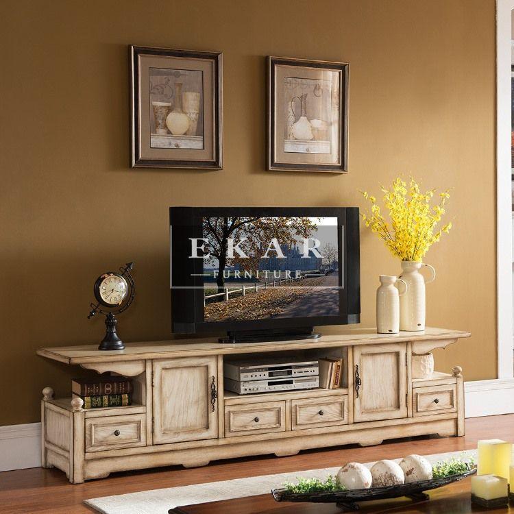 Ekar Furniture New Design Vintage Tvstand Tv Stands Manufacturer