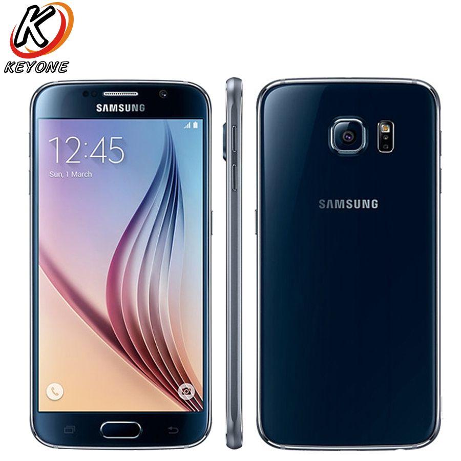New Samsung GALAXY S6 G9200 G9208 LTE Mobile Phone 5 1″ 3GB