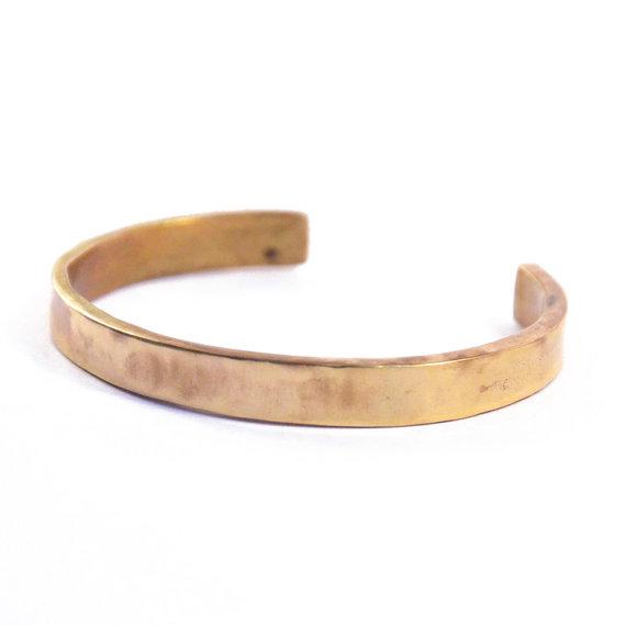 Simple Bronze Cuff by Mikinora