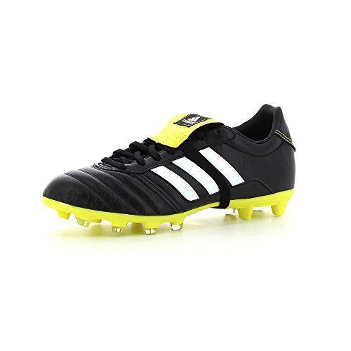 Adidas fussballschuhe gloro fg nucleo nero / bianco / giallo brillante ftwr