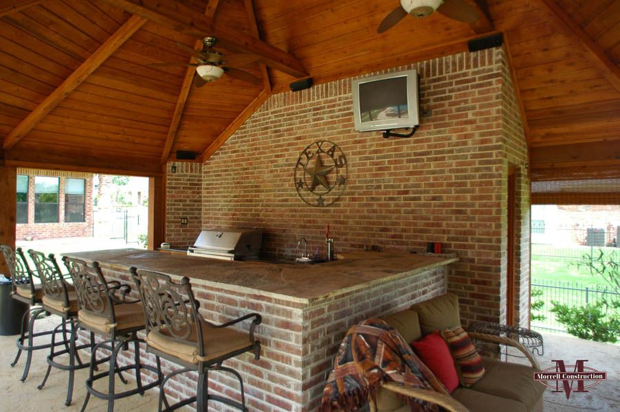 Cabanas Fort Worth Outdoor Kitchens Outside Landscape Kitchen Cabinets Home Tv Decor