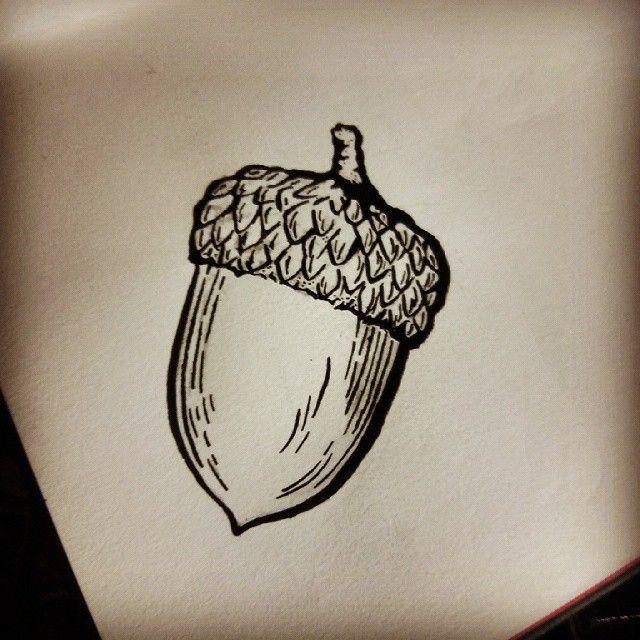 The Hobbit: My ink drawings. - The Acorn of Bilbo Baggins ...