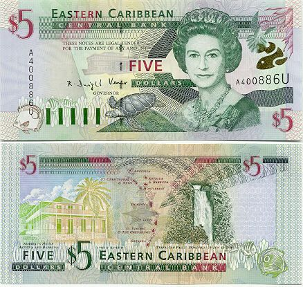 East Caribbean Dollar Xcd Is The Official Currency Of Anguilla Uk Antigua And Barbuda Dominica Grenada Montserrat Saint Kitts Nevis Lucia