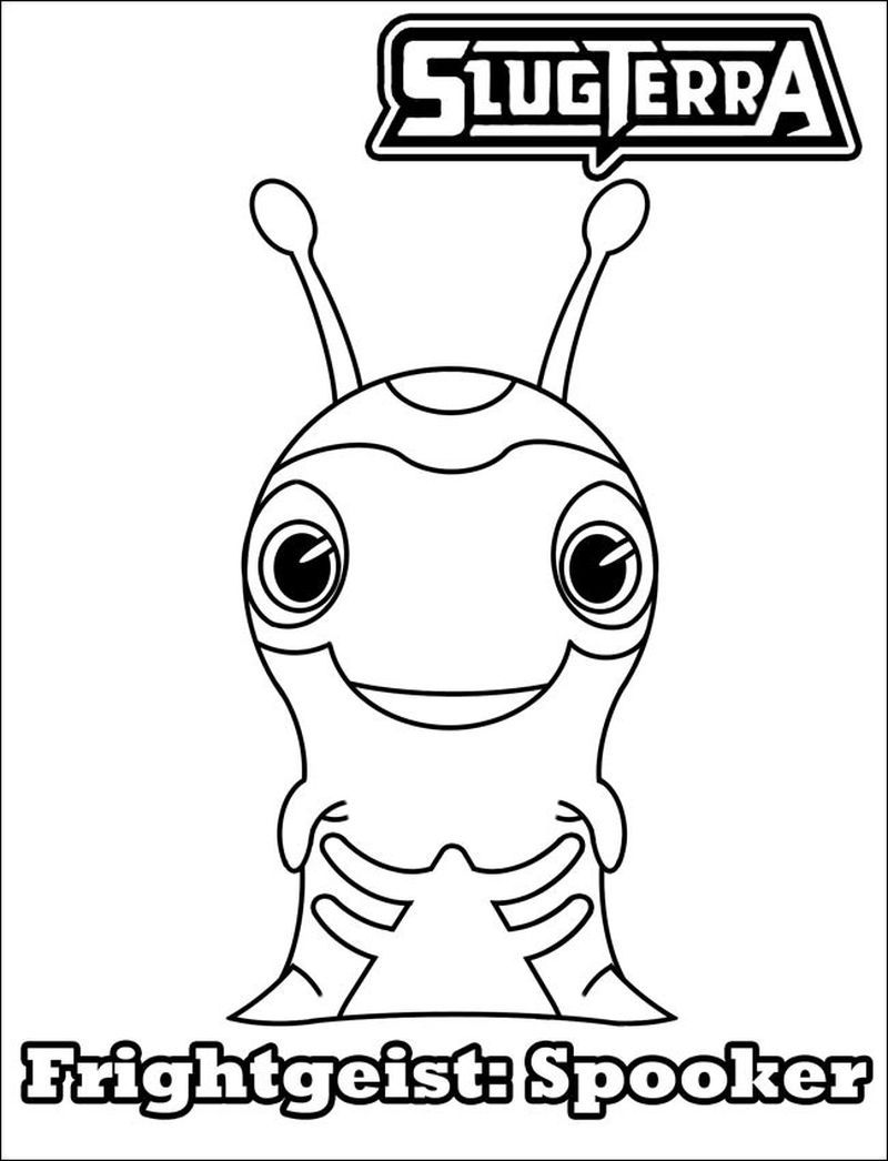 Pictures Of Burpy From Slugterra In 2020 Coloring Pages Cartoon Coloring Pages Online Coloring Pages