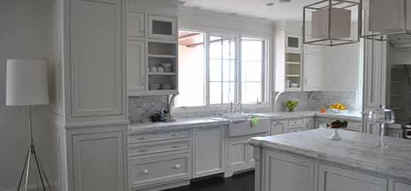 Shaker White Cabinets. This Shaker Style Kitchen Stands Out As Definite  Indication Of Quality