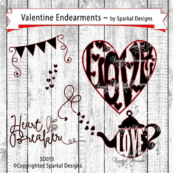 Valentine Heart Love SVG Typeography Tea by SparkalSVGDesigns #SVGCuttingFiles #FreeSVGFiles