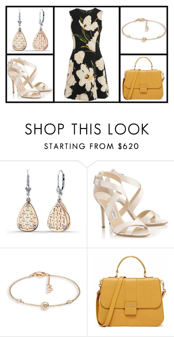 """""""Outfit # 3562"""" by miriam83 ❤ liked on Polyvore featuring Jimmy Choo, Piaget and Dolce&Gabbana"""