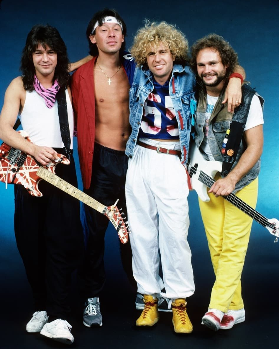 Good Morning Van Halen Eddie Van Halen Rock Music