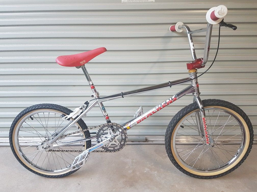 1988 Brackens Pro Xl Vintage Bmx Bikes Bmx Bikes Bmx