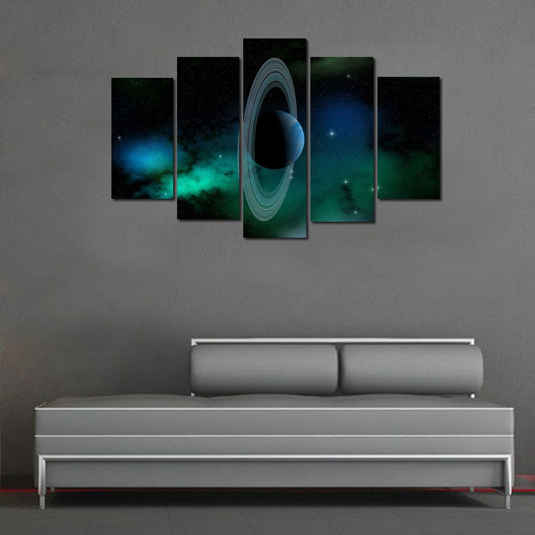 Oil painting hd print on canvas modern dec wall art the moon and the