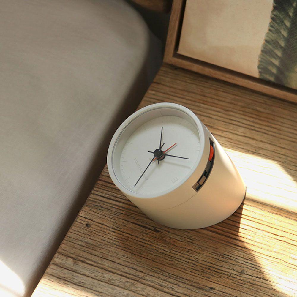 Retroflected Rhombus Night Light Clock For Bedroom Office