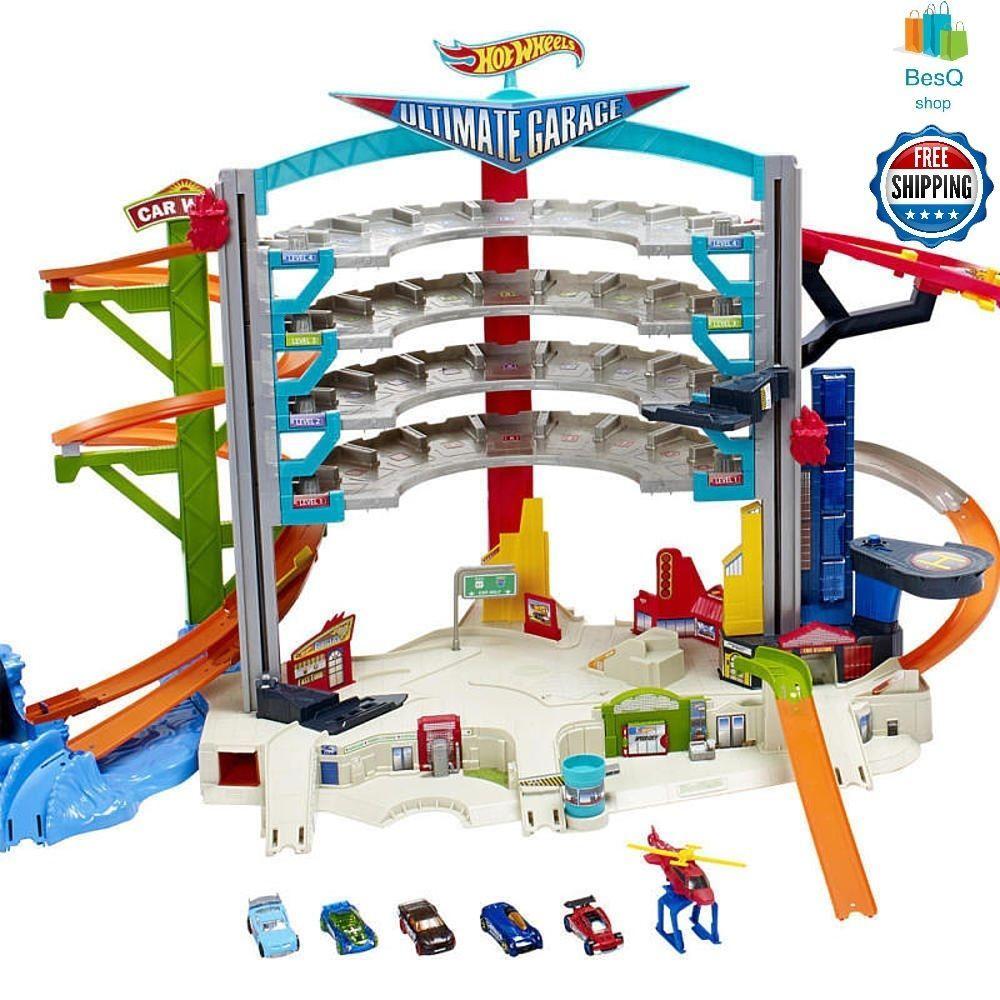 Hot Wheels Ultimate Garage Playset Kids Toys Cars Christmas Gift
