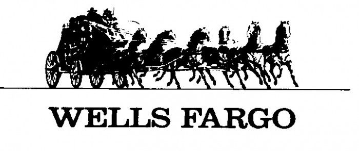 This Is An Image Of The Wells Fargo Logo It Has The Stagecoach And Horses The Image Is Black And White Wells Fargo Is Wells Fargo Logo Wells Fargo Wellness