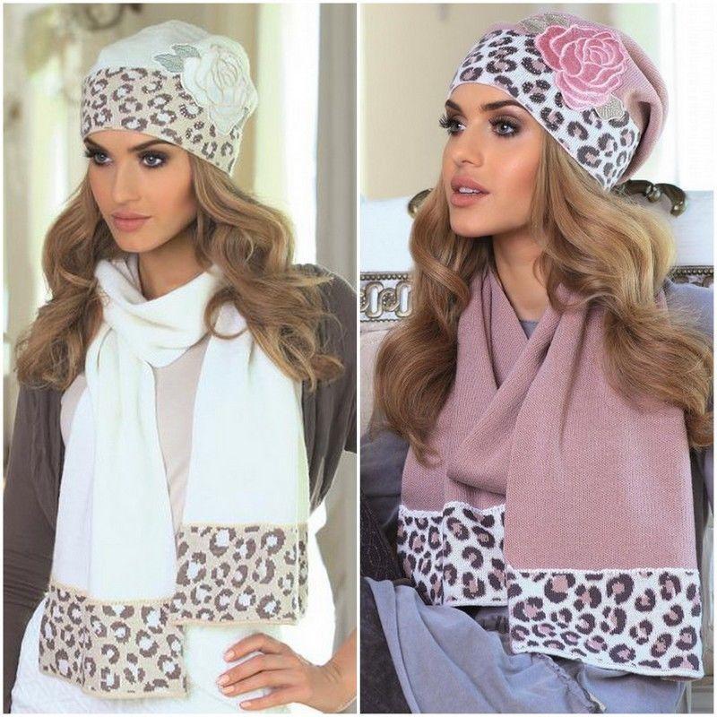 125e95c0ece Set bonnet écharpe femme ensemble chaud laine KAMEA joanna haute qualité