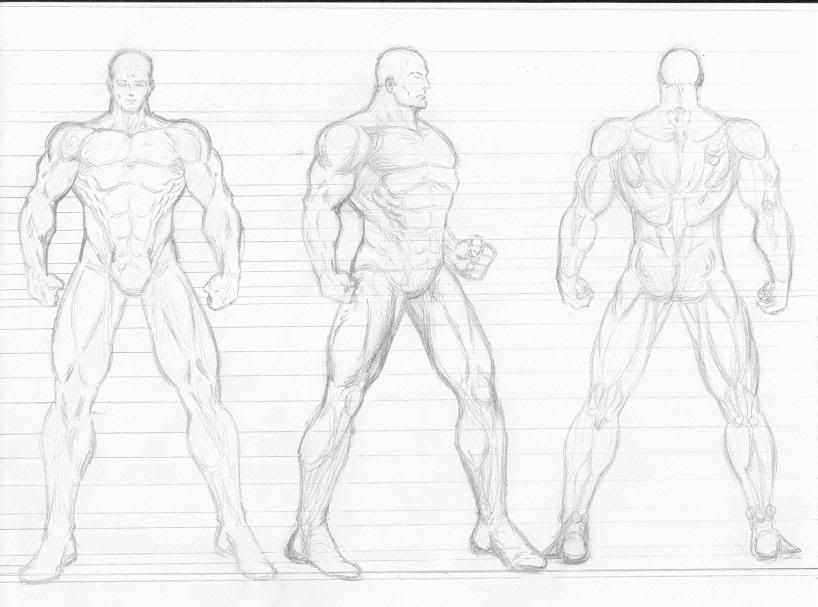 Figure Drawing Models Male | Male Figure Template ...