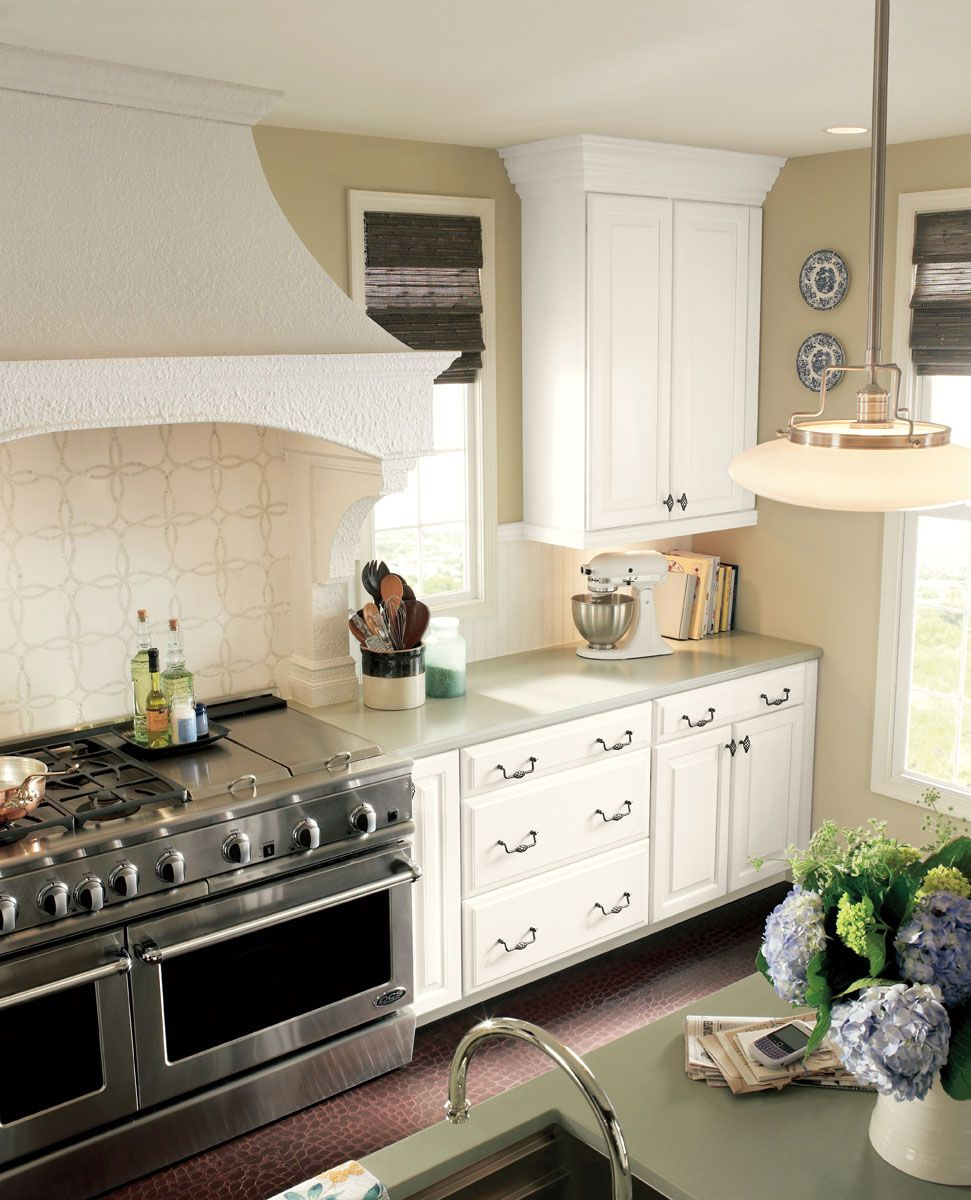 Handmade Kitchen Living Dining Room Remodel By Northwind: Style 610 In Painted Linen
