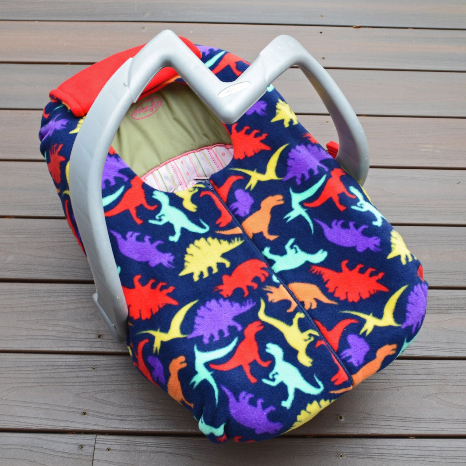 Dinosaur Car Seat Cover for Baby, Newborn, Infant Rear-facing Car ...