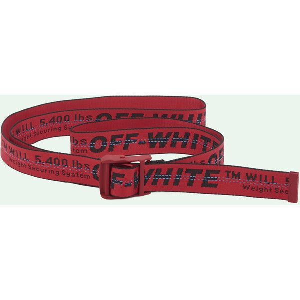 200202b56 OFF WHITE - Belt (€180) ❤ liked on Polyvore featuring accessories ...