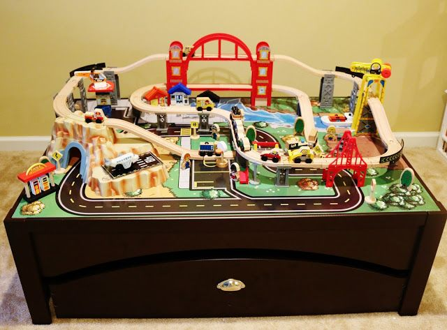 Train Fun Kidkraft Train Set Table Kidkraft Train