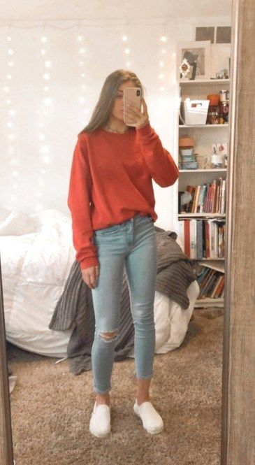 25 Trendy Fall Outfits Ideas For School