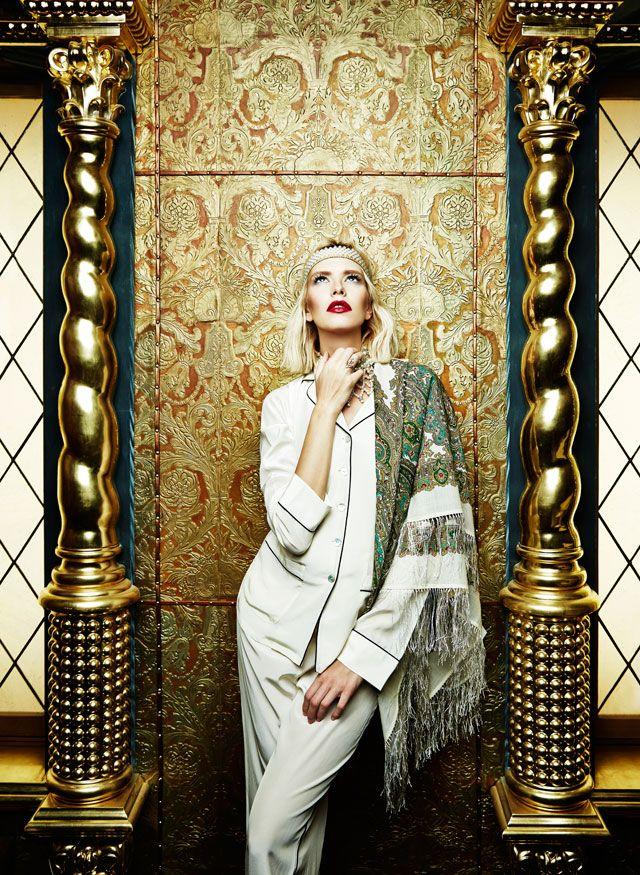 Лена Перминова в рекламной кампании Olivia von Halle (фото 6)