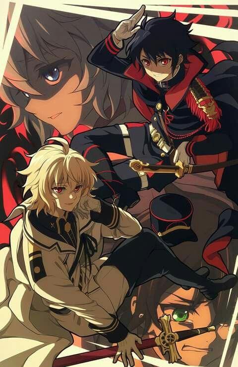 Yuu & Mika | Owari no Seraph | Seraph of the end ️♂️ ...
