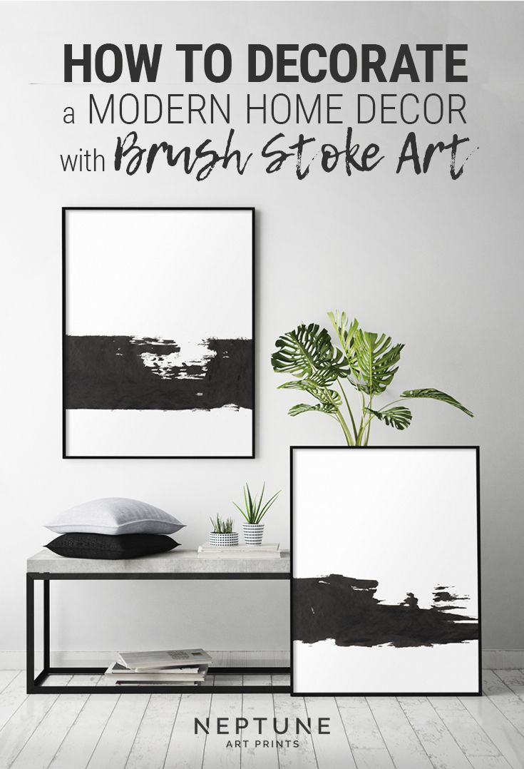Black and white print printable minimalist black and white wall