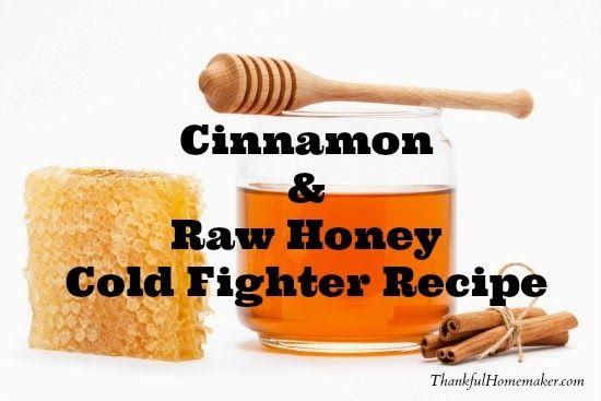 Cinnamon & Raw Honey Cold Fighter Recipe