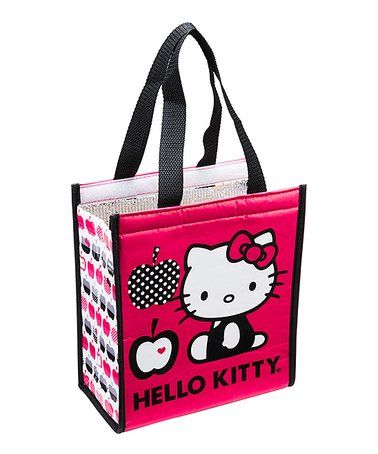 Love this Hello Kitty Insulated Shopper Tote on  zulily!  zulilyfinds 134e80baed