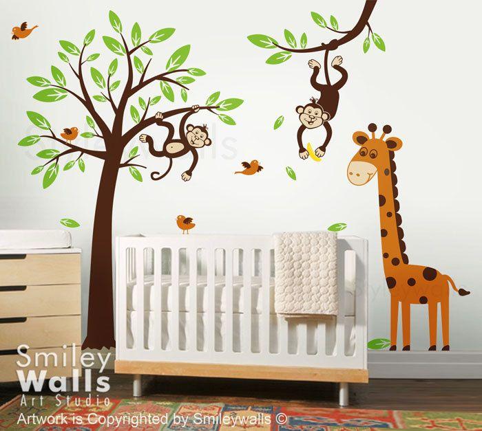 Baum selber malen | Kinderzimmer | Pinterest | Selber malen, Baum ...