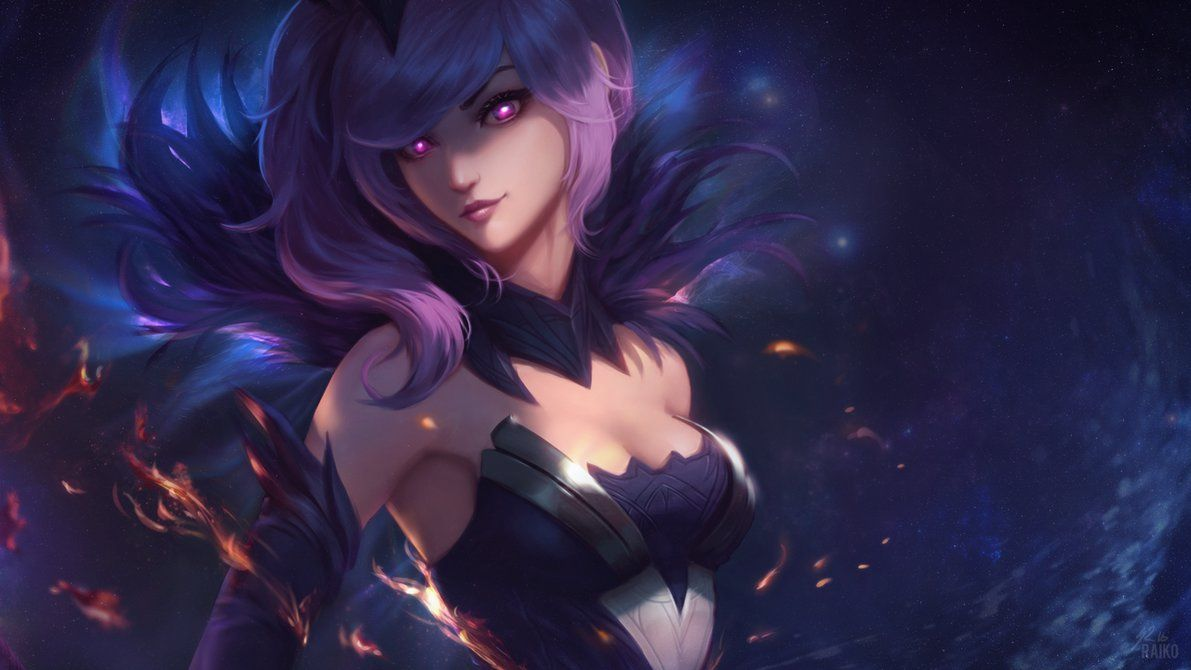 Dark Elementalist Lux Wallpaper By Raikoart On Deviantart League