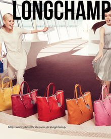 Longchamp - Pinned from @Glossi, a free digital magazine creation platform