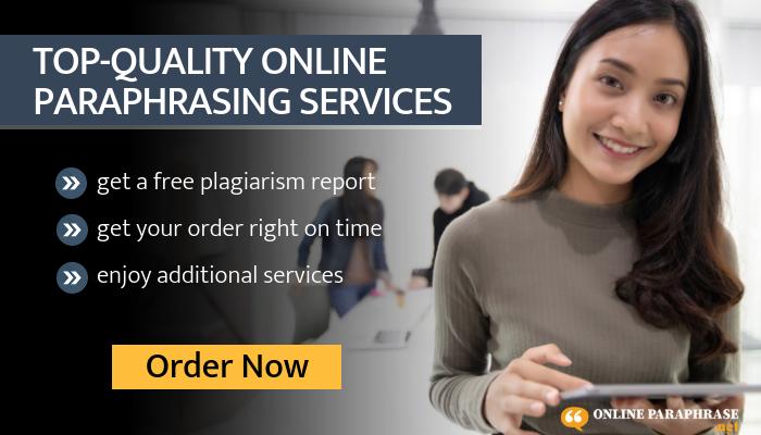 Accurate Online Paraphrase Machine Plagiarism Paraphrasing Service Free