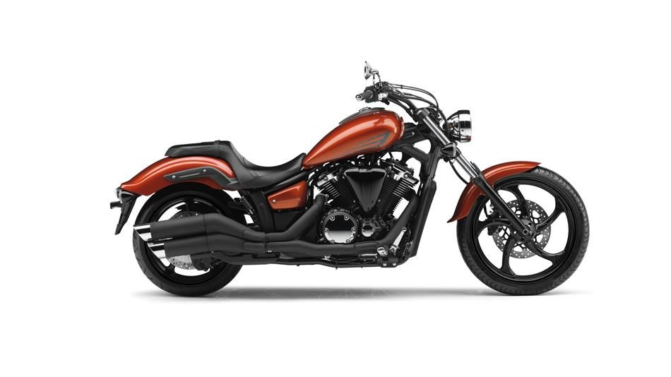 The 2016 Yamaha Custom Gets A Colour Change To Matt Grey It Looks Pretty Good Although Gloss Black Wheels Now Look Bit Odd