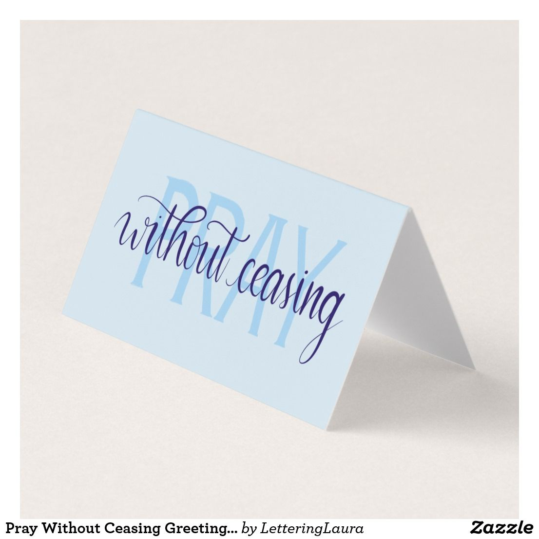Pray Without Ceasing Greeting Cards Set Christian Greeting Cards