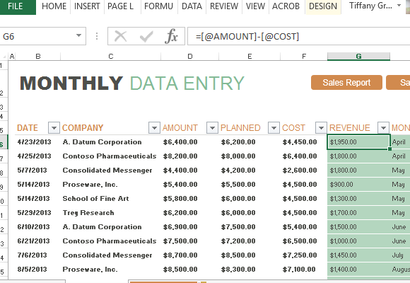 Excel Sales Report Template Free Download 1 Professional Templates