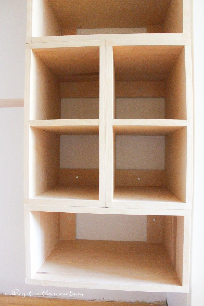 diy custom closet organizer: the brilliant box system | closet