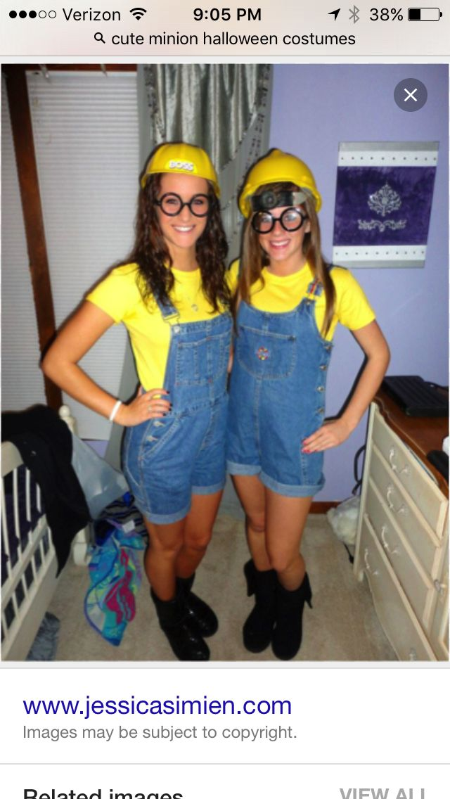 Minion Halloween Costumes For Girls.Cute Minion Halloween Costume Cute Halloween Costumes Diy