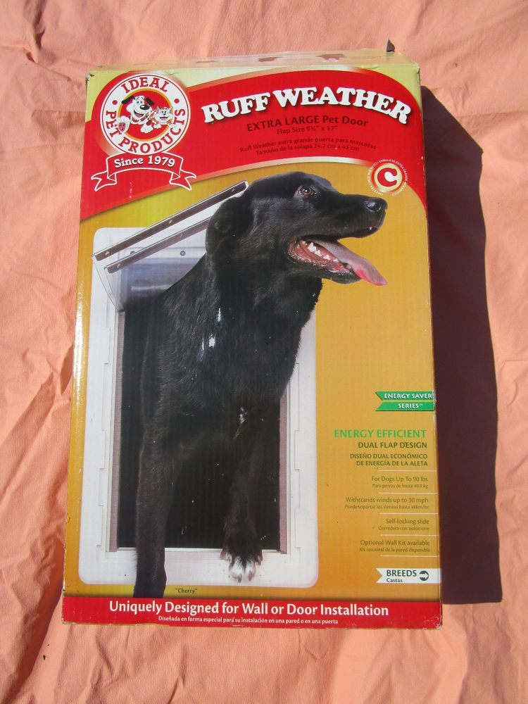 Ruff Weather Extra Large Pet Dog Door Ideal Pet Products Box Unused