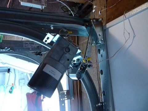 Zero Clearance Garage Door Opener Youtube With Images Garage Doors Garage Door Opener Garage