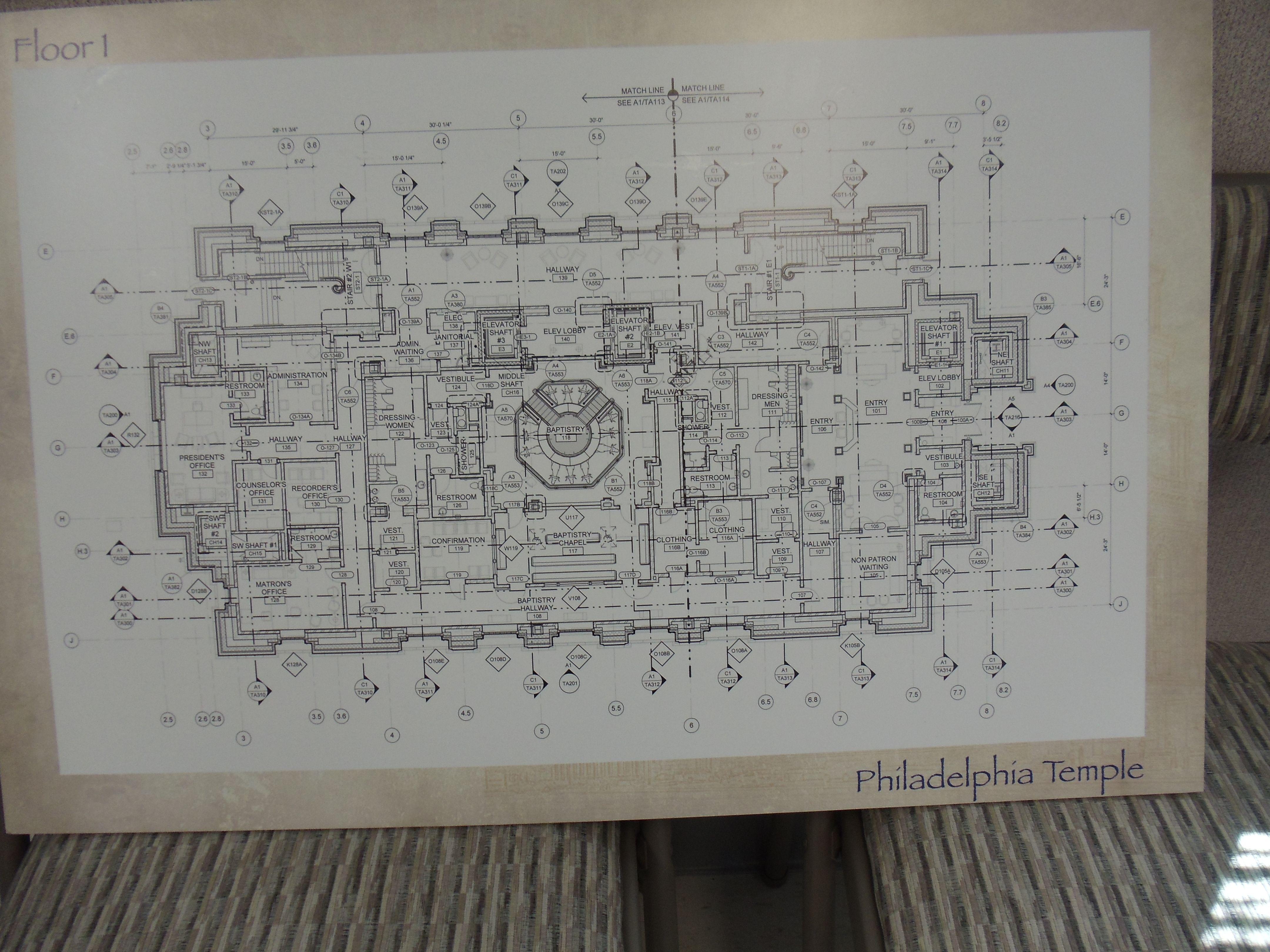 philadelphia pennsylvania lds mormon temple first floor plan philadelphia pennsylvania lds mormon temple first floor plan