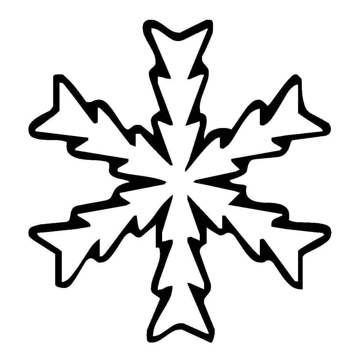 die besten ideen für malvorlagen schneeflocken