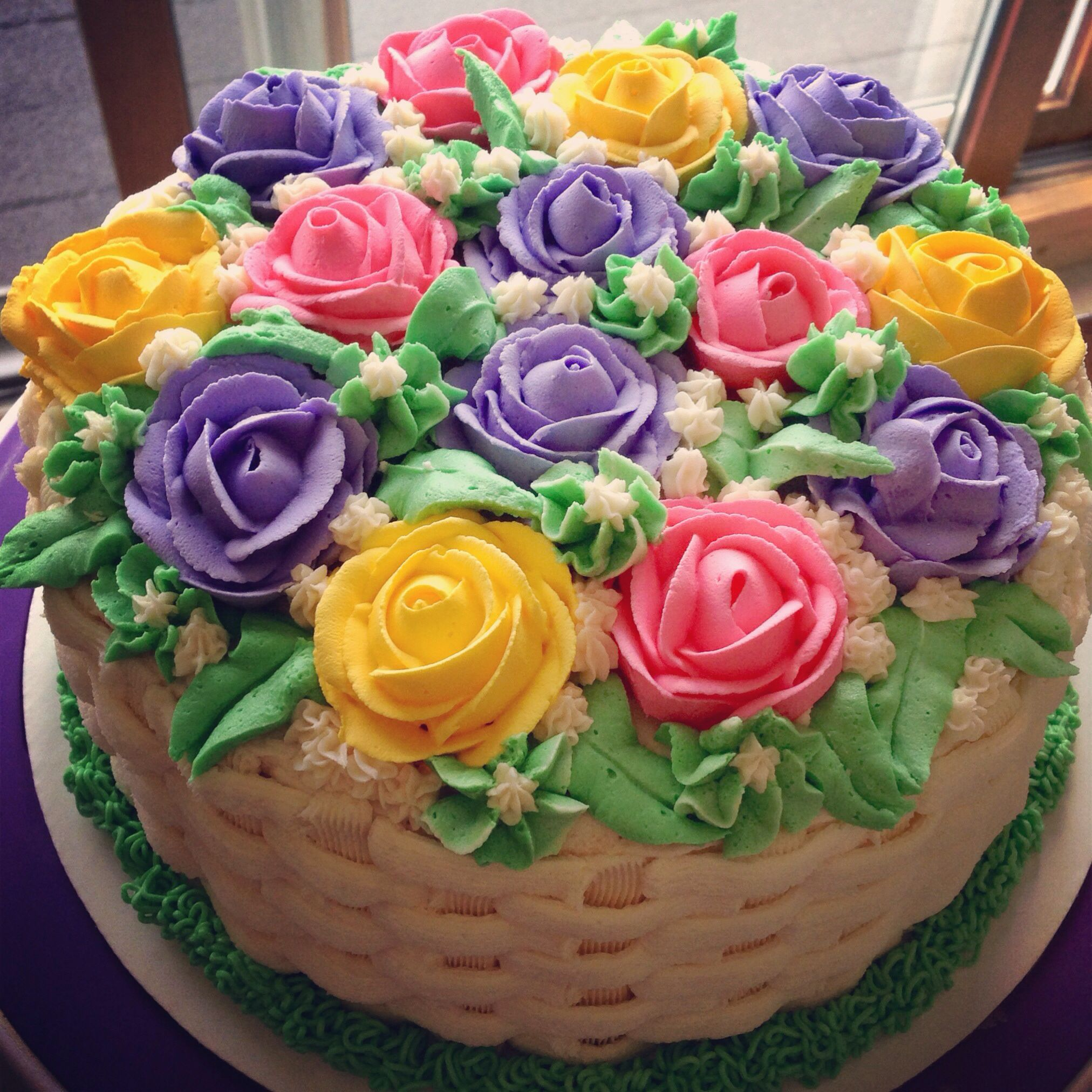 Happy Birthday Bouquet Cake Birthday Flowers Bouquet Happy