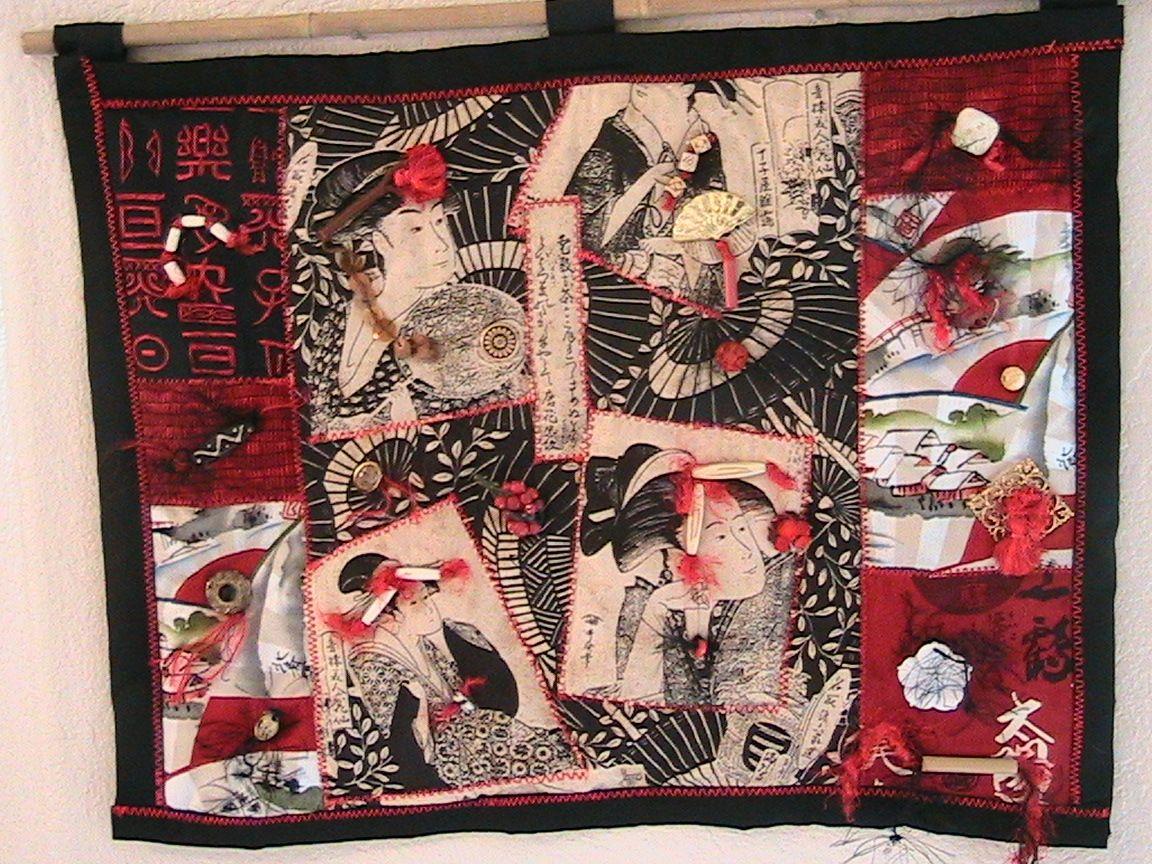 Oriental Wall Quilt