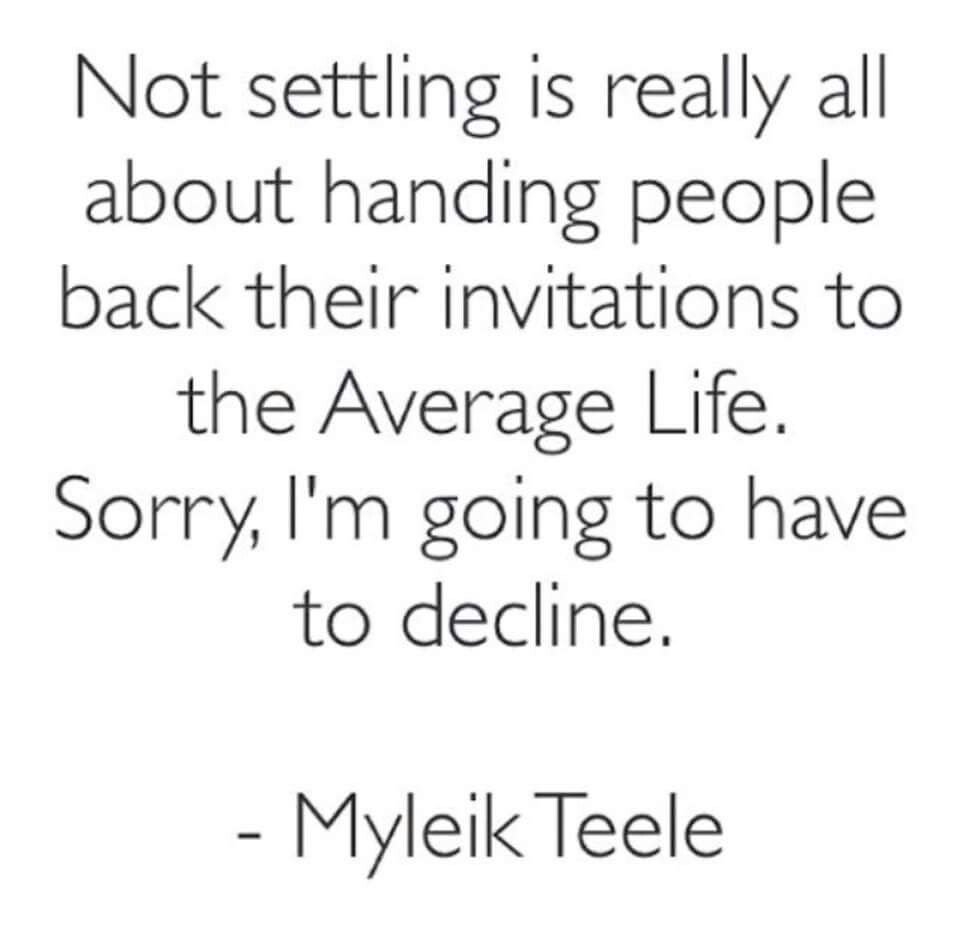 Not Settling Quote Quotes Pinterest Quotes Faith Quotes And